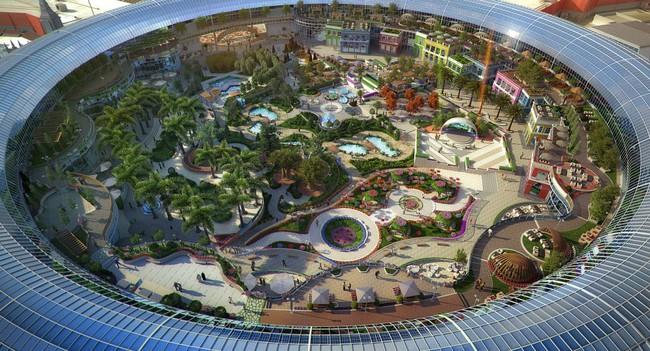 Dubai chuẩn bị ra mắt siêu trung tâm thương mại biết sống và thở - ảnh 10