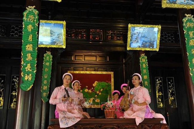 Hue royal court music which will be among heritage to be introduced at the festival (Photo: VNA)