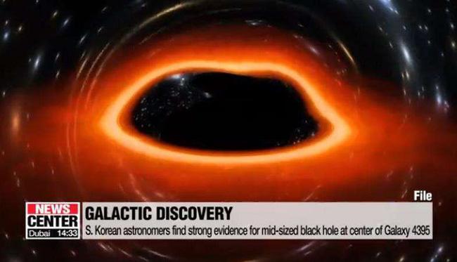Các nhà khoa học Hàn Quốc lần đầu phát hiện hố đen khối lượng trung bình - ảnh 1