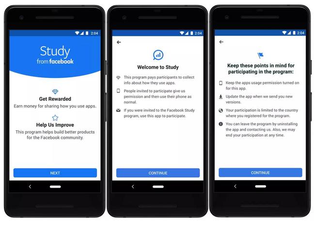 Facebook trả tiền để nghiên cứu về các ứng dụng người dùng sử dụng - ảnh 2