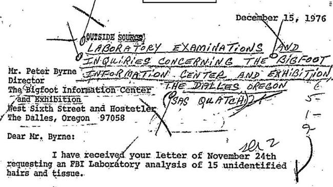 FBI từng tìm kiếm khả năng Bigfoot tồn tại vào năm 1970 - ảnh 1