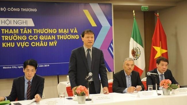 Deputy Minister of Industry and Trade Do Thang Hai (Photo: VNA)