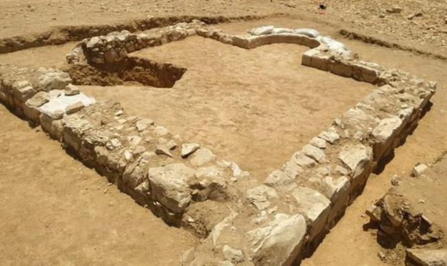 Phát hiện tàn tích đền thờ có niên đại 1.200 năm ở Israel - ảnh 1