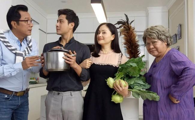 NSƯT Minh Vượng: Chủ động không thân thiết với Lan Phương khi đóng Nàng dâu order - ảnh 2