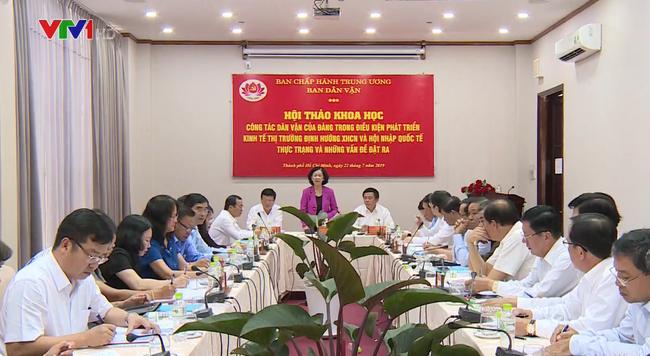 Đổi mới công tác dân vận của Đảng trong điều kiện phát triển kinh tế thị trường - ảnh 2