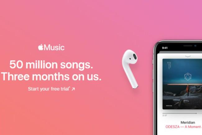 Apple Music rút ngắn thời gian dùng thử xuống còn 1 tháng? - ảnh 1