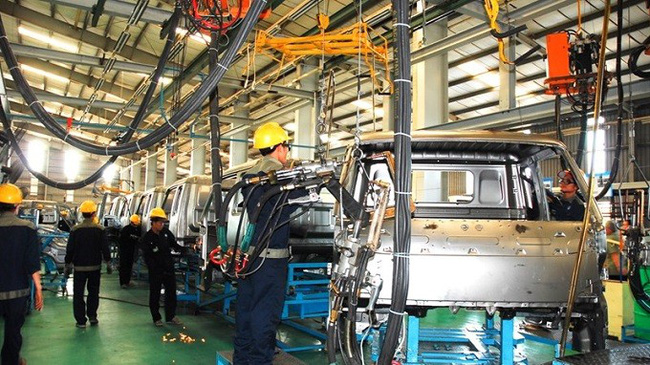 The processing and manufacturing sector grows 10.7% year-on-year in the first seven months of 2019. (Illustrative image)