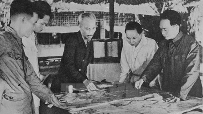 On December 1953, the Party central committee and President Ho Chi Minh decided to begin the Dien Bien Phu campaign aiming at the French army headquarters base. (Photo: VNA)