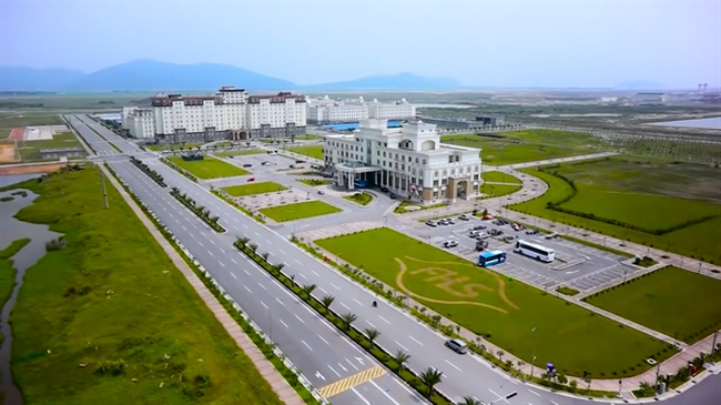 A corner of Vung Ang Economic Zone in the central province of Ha Tinh (Photo: khukinhte.hatinh.gov.vn)
