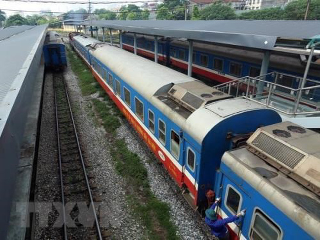 More than 50 additional trains will be operated in various routes aimed at serving rising number of passengers during the coming National Day holidays (Photo: VNA)