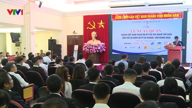 19 thí sinh Việt Nam tham dự Kỳ thi tay nghề thế giới lần thứ 45 - ảnh 2