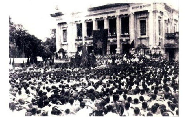 The August Revolution 1945 was a victory of Vietnamese people's wisdom, bravery and indomitable spirit under the wisdom of the CPV, which was led by President Ho Chi Minh.