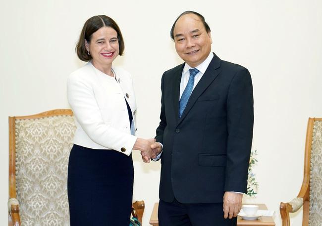 Thủ tướng tiếp Đại sứ Australia - ảnh 1