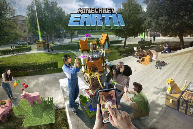 Minecraft Earth ra mắt phiên bản beta trên Android - ảnh 1
