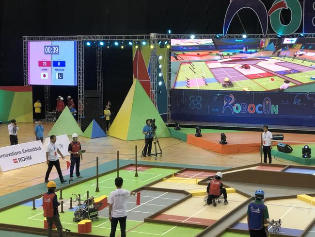 Đội tuyển Việt Nam vào tứ kết ABU Robocon 2019 - ảnh 6