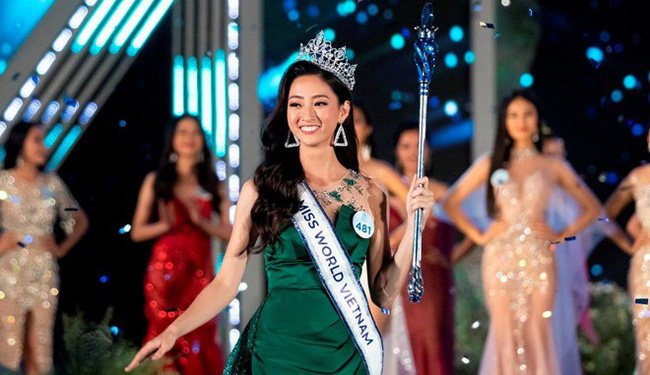 Luong Thuy Linh was crowned Miss World Vietnam 2019 on August 3.