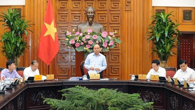 Prime Minister Nguyen Xuan Phuc speaks at the event (Photo: NDO/Tran Hai)