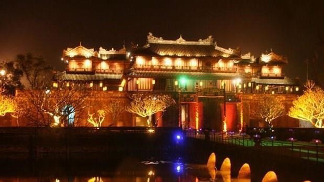 The Hue Imperial Citadel (Dai Noi) in the central province of Thua Thien - Hue (Source: VNA)