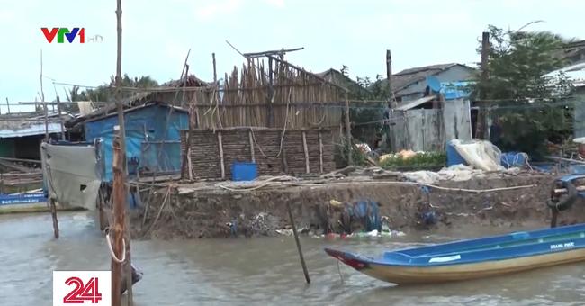 Hết bờ biển Tây, Cà Mau lại ban bố tình huống khẩn cấp sạt lở bờ biển Đông - ảnh 2