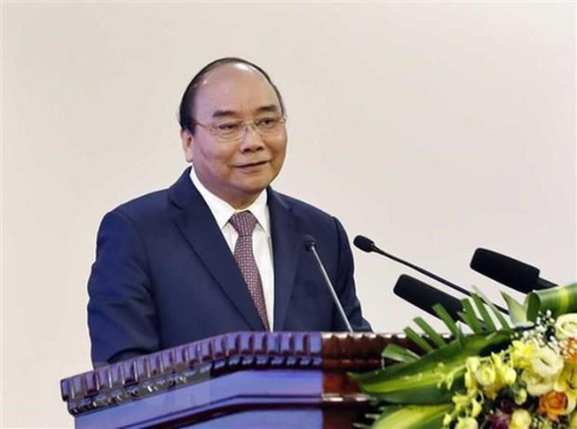 Prime Minister Nguyen Xuan Phuc at the event (Photo: VNA)