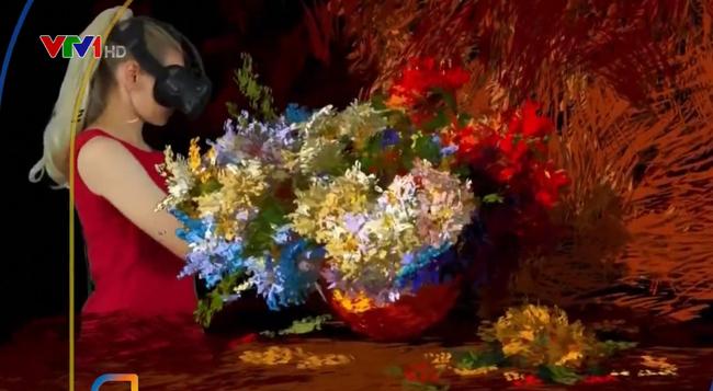 Họa sĩ người Nga vẽ tranh 3D bằng công nghệ thực tế ảo
