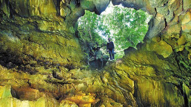 The Krong No volcanic cave system has been nominated as a global geological park.