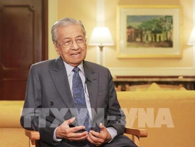 Malaysian Prime Minister Mahathir Mohamad. (Photo: VNA)