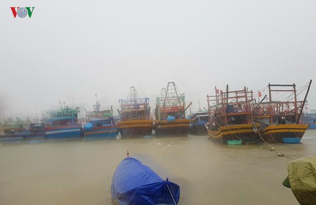 Đối phó áp thấp nhiệt đới, các tỉnh miền Trung cấm tàu thuyền ra khơi - ảnh 1
