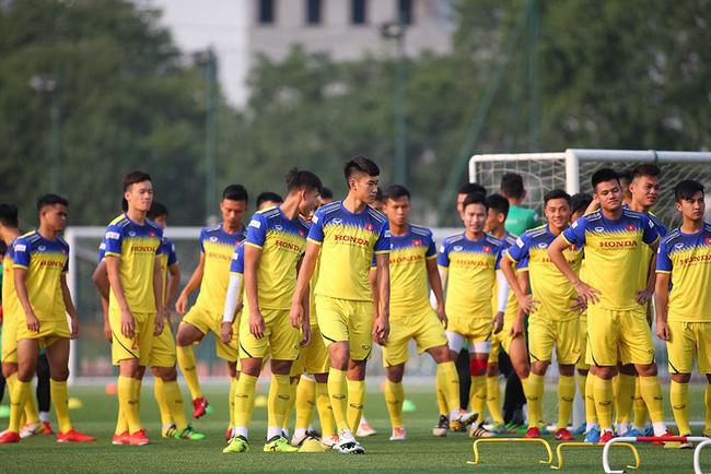 ĐT U22 Việt Nam trở lại tập luyện, thầy Park nhận tin vui | VTV.VN