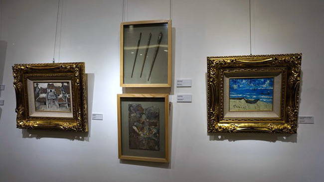 The exhibition at Chon Auction House