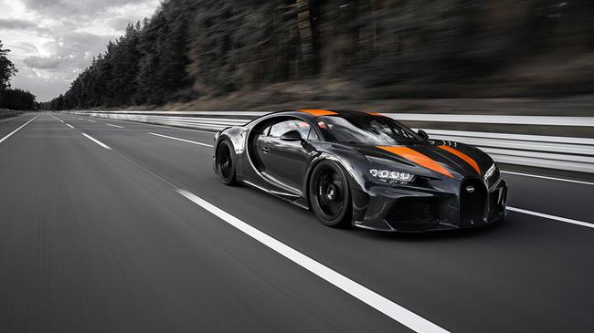 Siêu xe Bugatti Chiron phiên bản đặc biệt lập kỷ lục về tốc độ - ảnh 1