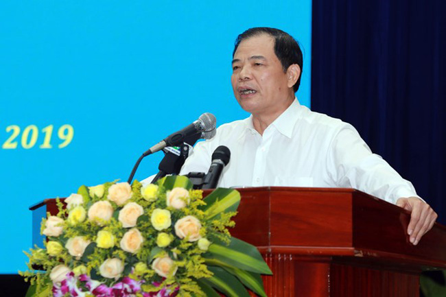 Minister of Agriculture and Rural Development Nguyen Xuan Cuong speaks at the conference in Tam Ky city, Quang Nam province, on September 7 (Photo: VNA)
