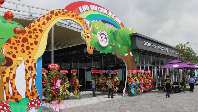 Bac Lieu's most modern children's entertainment complex inaugurated