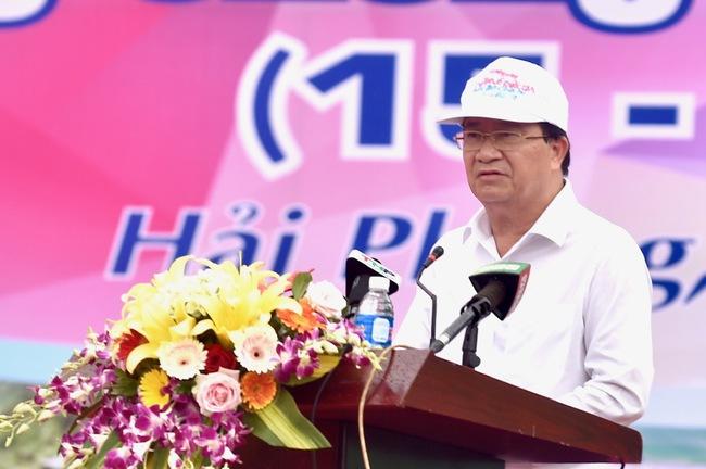 Deputy Prime Minister Trinh Dinh Dung (Photo: VPG)