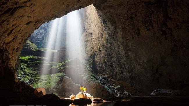Inside Son Doong Cave (Photo: VNA)