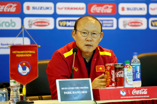 Coach Park Hang-seo confident ahead of the confrontation with Thailand and Indonesia U23s in the upcoming 2020 AFC U23 qualifier campaign. (Photo: Vietnam Football Federation)