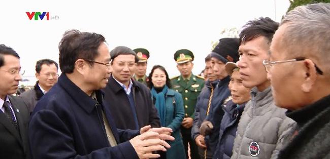 Trưởng ban Tổ chức Trung ương thăm và chúc Tết nhân dân huyện đảo Cô Tô - ảnh 1