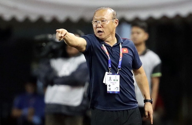 Vietnam head coach Park Hang-seo.