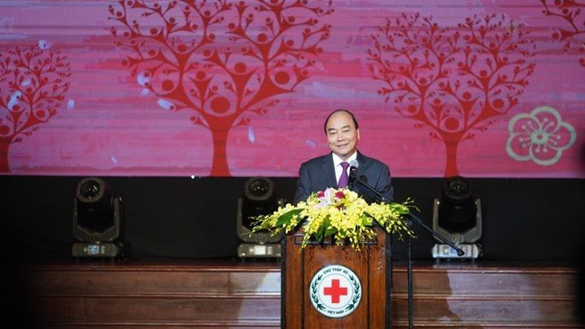 PM Nguyen Xuan Phuc speaking at the event (Photo: VGP)