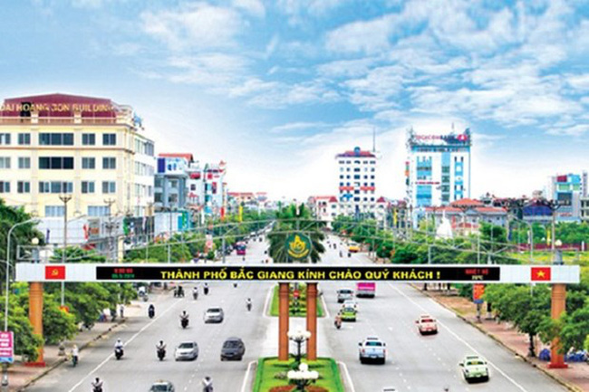 A corner of Bac Giang city (Photo: baochinhphu.vn)
