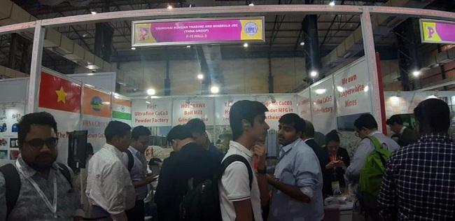 Vietnamese stall at the event (Photo: VNA)