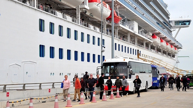 Ha Long International Cruise Port receives over 2,500 cruise tourists