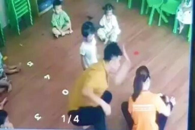 Bộ GD&ĐT yêu cầu xử lý nghiêm phụ huynh bạo hành trẻ mầm non trong lớp ở Lào Cai - ảnh 1
