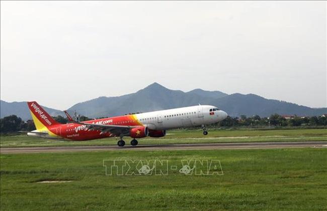 An aircraft of Vietjet Air (Illustrative photo: VNA)
