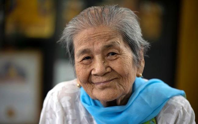 Cụ bà trăm tuổi chiến thắng COVID-19 - ảnh 3