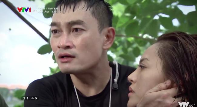 Lửa ấm - Tập 14: Vừa cứu người tình cũ suýt chết duối, Minh (Quốc Thái) chạy ngay đến giải nguy cho vợ - ảnh 12