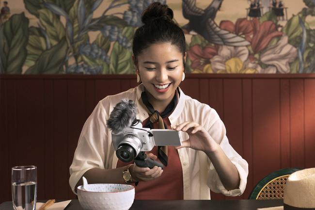 Canon ra mắt máy ảnh EOS M50 Mark II chuyên cho vlogger - ảnh 2