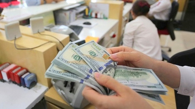 Vietnam's foreign exchange reserve standing at a new record high of US$92 billion.