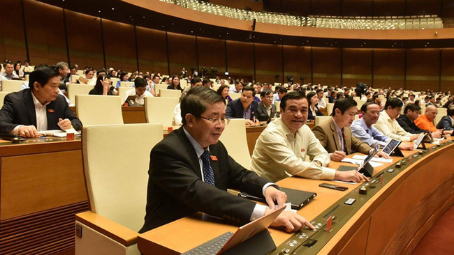 The meeting of the National Assembly on November 11 morning