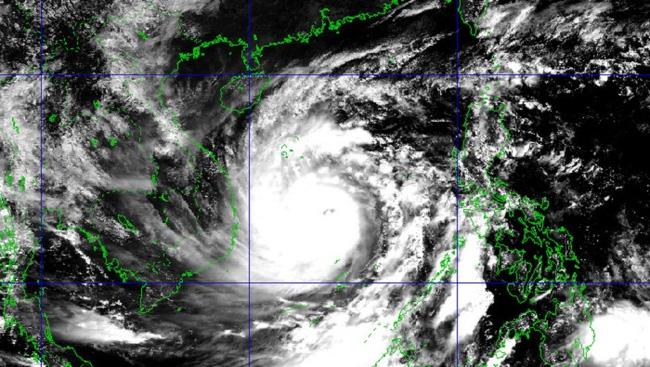 Satellite image of Storm Molave. (Source: nchmf.gov.vn)